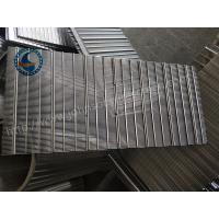 High Precision 304 Stainless Sieve Screen , Wedge Wire Sheets 1.25mm Slot Size Manufactures