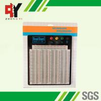 ABS Plastic Soldering Breadboard Transparent With Black Aluminum Plate Manufactures
