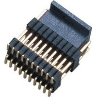 PCB Board Male 1.27*2.54mm Pin Header Connector Dual Row Double Plastic SMT  PA9T  Brass H=2.54 Manufactures