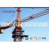 Lifting Capacity 8t Electric Tower Crane QTZ80A With CE / CCC / ISO 9001 Certificates Manufactures