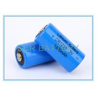 China Camera Shaver Limno2 Battery , 1500mAh Lithium Battery Cells CR17335 CR123A 3.0V on sale