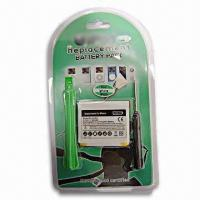 Battery for Apple iPhone with Standard Voltage of 3.7V, 1400mAh Manufactures