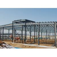 China Q345b High Strength Steel Structure Construction 30m Span With Portal Frame on sale