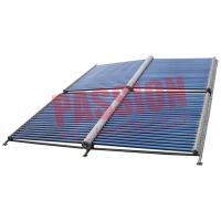 100 Tubes Evacuated Tube Solar Collector , Solar Water Heater Collector Panels Manufactures