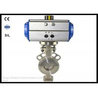 ANSI Pneumatic Wafer Butterfly Valve Actuator DN50 12-18 Months Warranty Manufactures