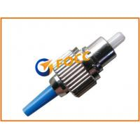 Plastic Blue Boot Network ST Connector Fiber Optic Cable For Telecommunication Manufactures