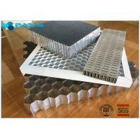 Aluminum Honeycomb Curtain Wall Core Board 0.06mm Thickness Glue Bonded Manufactures
