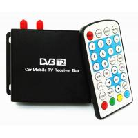 Quality Ouchuangbo  Car DVB-T2 TV Receiver Dual Tuner For Car DVD High Speed Mpeg4 Car Digital TV Box Tuner Auto Mobile for sale