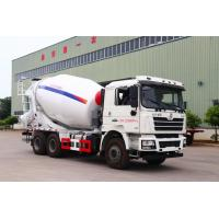 SHACMAN-HUAYI Second Hand Cement Mixer , Used Cement Mixer Truck 6X4 Drive Form Manufactures
