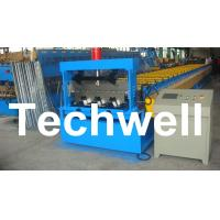 PLC Control Deck Roll Forming Machine For Floor Decking Panel, Metal Decking Sheet Manufactures