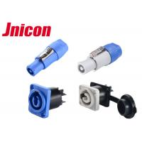 3 Pin PowerCon IP65 Waterproof Power Connector Male Female 20A For LED Screen Manufactures