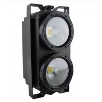 Quality 100W / 200W COB LED 2 Eyes Audience Blinder Lights DMX Warm White for sale
