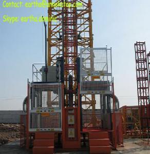 Building hoist 2tons load elevator Manufactures
