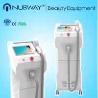 Medical 808nm diode laser hair removal machine With Dias Laser Bar 600w output Manufactures