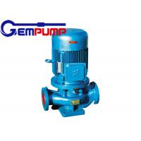 ISG cold / hot water vertical fire-fighting booster pump remote water supply warming systems Manufactures