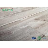 Quality Sound Proof 4MM 5MM SPC Vinyl Flooring With EVA Underplayer , Stone Plastic for sale