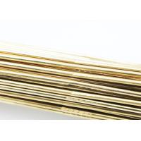 Zinc Alloy To Weld Copper / Brass Brazing Rod High Precision SGS Approval Manufactures