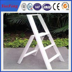 Aluminium extrusion profiles for Household Ladder, china aluminum extrusion factory Manufactures
