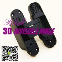 Opening 180 Three Ways Italian Hinges Adjust Hidden Concealed 3D Invisible Hinge Manufactures