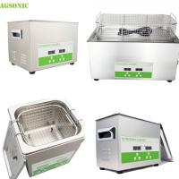 Stainless Steel Tray And Cover Heater And Timer Digital Ultrasonic Cleaner Manufactures