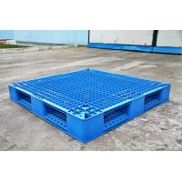 Buy cheap Rackable Plastic Shipping Pallets For Storage / Distribution , Blue Plastic from wholesalers