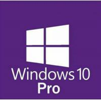 Quality instant delivery Microsoft Windows 10 Pro Professional 32/ 64bit License Key Product Code win 10 pro retail key for sale