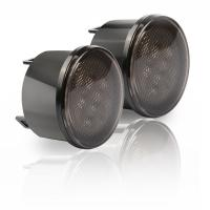 Amber Front LED Turn Signal Light Assembly for 2007~2016 Jeep Wrangler JK Turn Lamp Parking Lights Bulb Smoke Lens Manufactures