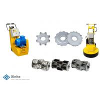 Rotary TCT Head On Cement Floor Grinder Accessories Concrete Scarifiers / Floor Planers Parts Manufactures