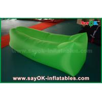 Buy cheap OEM Inflatable Lazy Pop Up Sofa Sleeping Bags For Girls Blue / Red / Purple / Pink from wholesalers