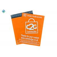 2.5 mil 19x24inch Custom Orange Printing Plastic Poly Mailers Mailing Bags Mailing Satchels Manufactures