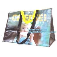 Custom logo eco-friendly fabric promotional paper non woven bag, Best selling colorful U shape cut die non woven bag wit Manufactures