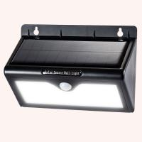 Super Brightest Pure white Solar Motion Sensor LED Light Outdoor 3 Intelligent Mode Manufactures