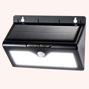 Super Brightest Pure white Solar Motion Sensor LED Light Outdoor 3 Intelligent Mode Manufactures
