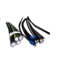 Power Transmission XLPE Insulated Cable Light Weight With Longer Spans Manufactures