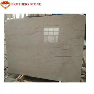 Turkish Crema Eva Marble Sofitel Gold Marble Stone Slab , Granite Kitchen Floor Tiles Manufactures