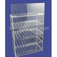 China Tobacco Custom Acrylic Display Case Transparent Waterproof OEM Service on sale