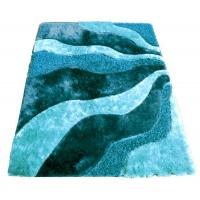 China Polyester Mixed Modern Design Carpet Shaggy Rug on sale