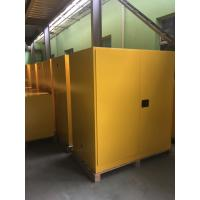 High Performance Flame Proof Industrial Storage Cabinets 410Litre Shelf Adjustable Manufactures