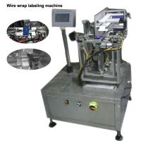 China Wire / Cable Semi Automatic Labeling Machine High Labeling Accuracy on sale