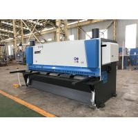 0.5°~1.5° Angle Hydraulic Guillotine Shearing Machine With Anti Twist System Manufactures