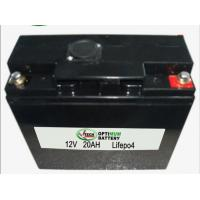 China LiFePO4 12V 20AH for UPS , Solar Panel, Lithium Iron Phosphate Batteries on sale