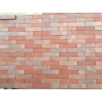 Changeable Colors Flat Thin Split Face Brick For Exterior Wall Low Water Absorption Manufactures