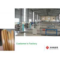 Furniture Wicker Plastic Rattan Extrusion Line / Artificial Rattan wicking Production Line Manufactures