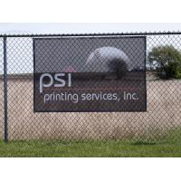 Custom Printing On 10oz Pvc Mesh Banner , Trade Show Mesh Outdoor Banner Manufactures