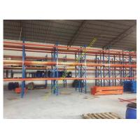 Corrosion protection Warehouse Storage Racks , Commercial Steel Selective Pallet Rack Manufactures