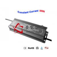 Slim Constant Current Power Supply 12V 24V DC 80W Waterproof IP67 Bulb LED driver Manufactures
