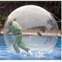 TPU / PVC Walking Human Hamster Ball Inflatable Running Water Bubble Roller Manufactures