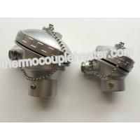 Alloy Aluminum Thermocouple Connection Head With Ceramic Terminal Block Manufactures