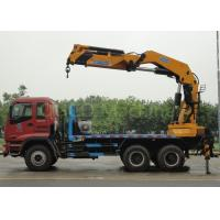 heavy Duty CCS Folding Boom 16t Lorry Mounted Crane Manufactures
