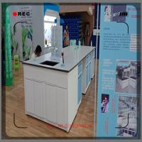 Durable Chemistry Lab Furniture FRP Lab Cabinets And Countertops 5 Years Warranty Manufactures